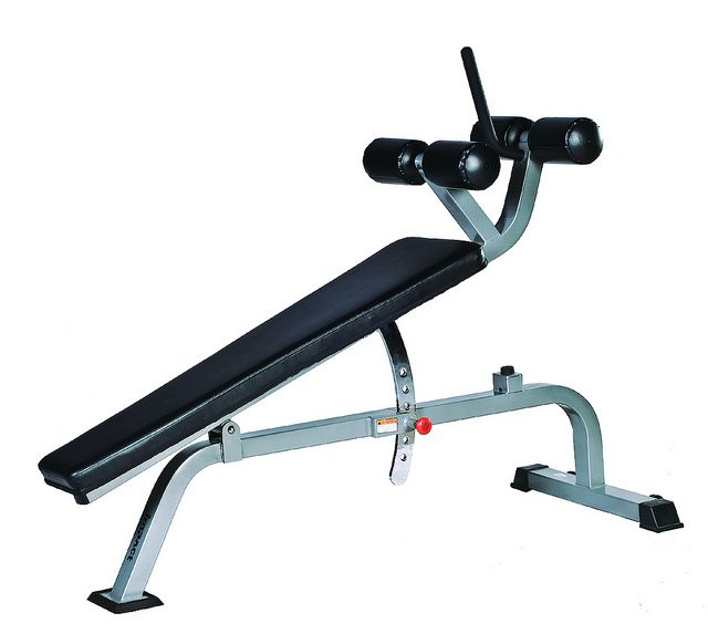 Elevation Series Ct2052 Adjustable Decline Sit Up Bench
