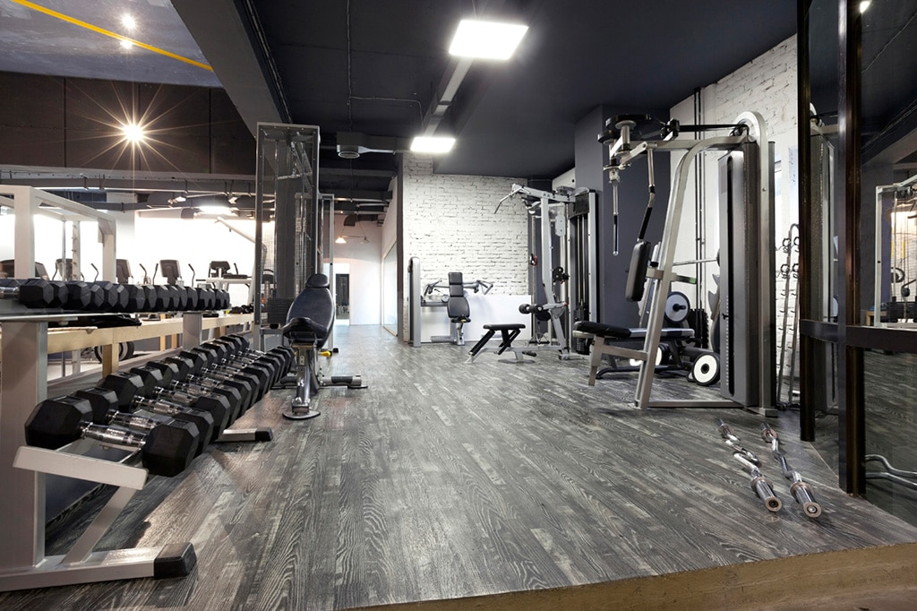 Gym equipment and the costs involved when opening a gym for 3000 sq ft gym layout