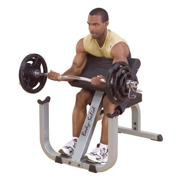 Body Solid Gpcb329 Seated Preacher Curl