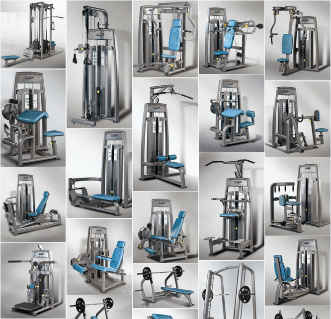 Building a gym with a GymStarters Large Equipment Package to stand out from the crowd