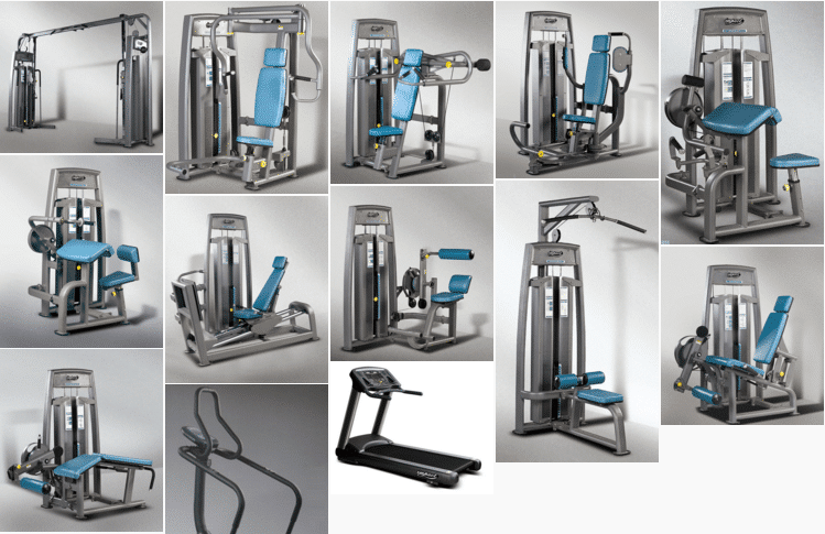 GymStarters Medium sized gym equipment package