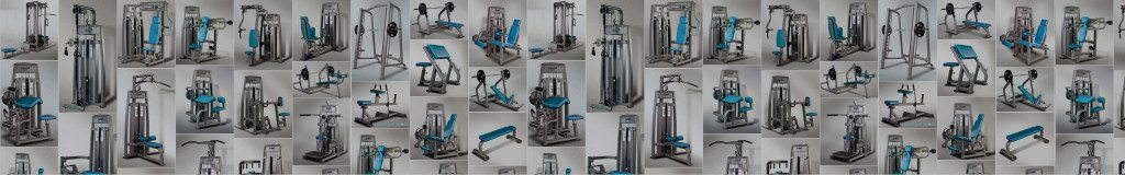 Various pieces of gym equipment supplied by GymStarters