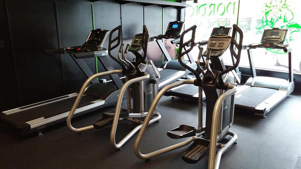 Nordic Total Fitness Center - Treadmills